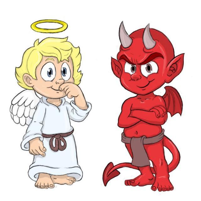 😇 Anjos vs Devils 😈